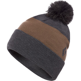 Black Diamond Pom Muts met klep, smoke/walnut